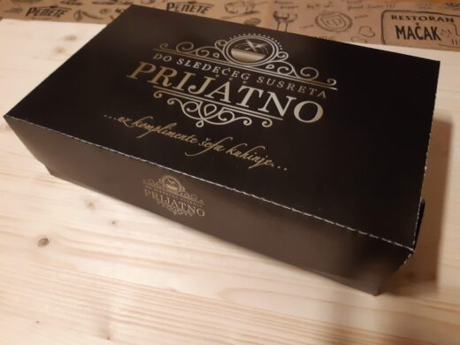 Kutija za poneti sa alu folijom